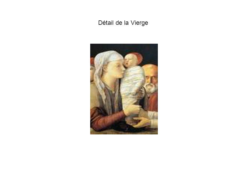 Détail de la Vierge
