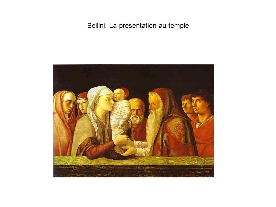 Bellini, La présentation au temple