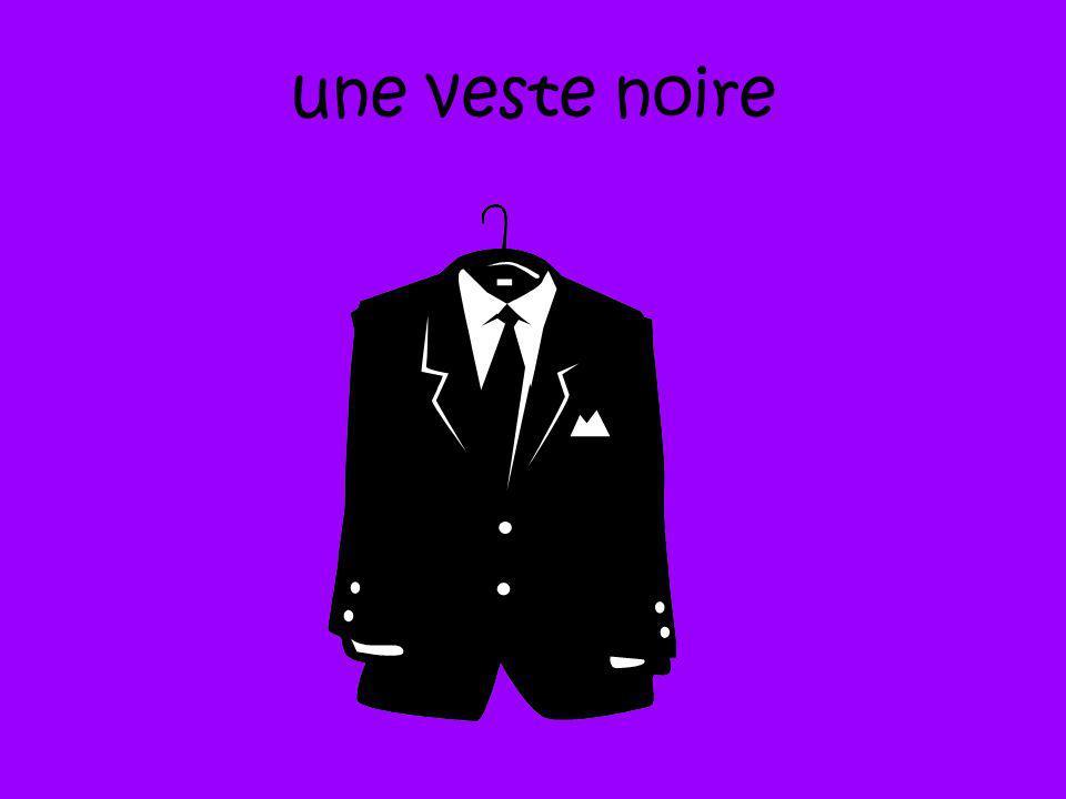 une veste noire