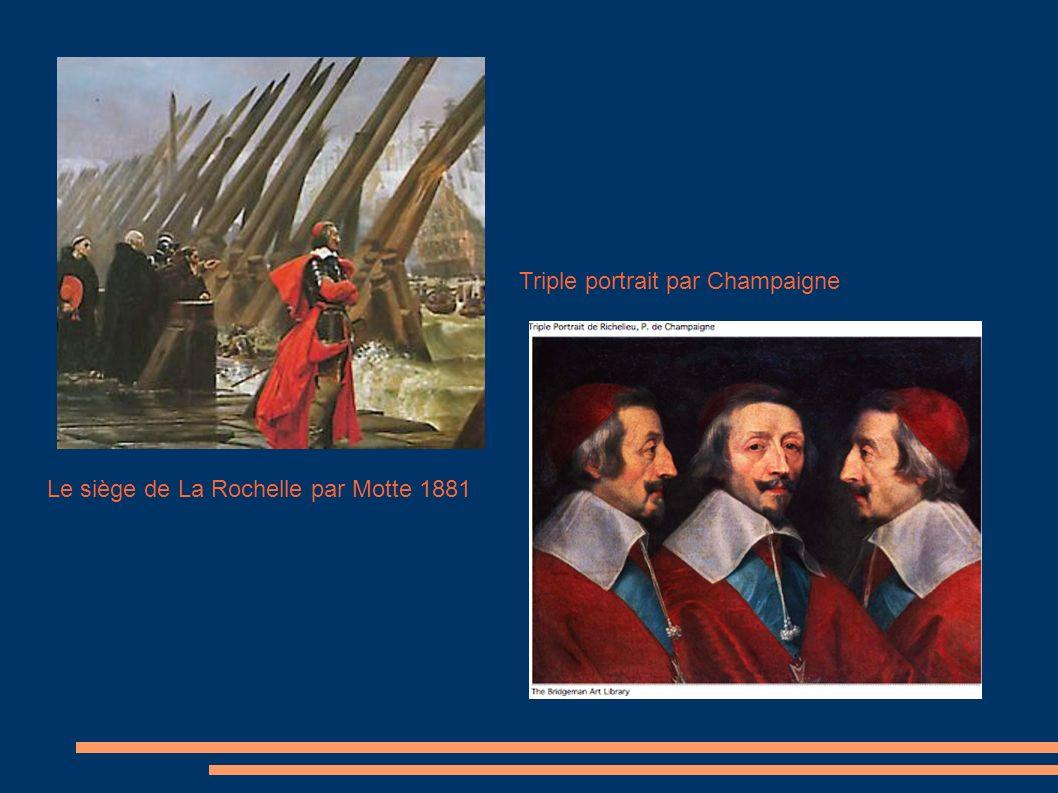 Triple portrait par Champaigne