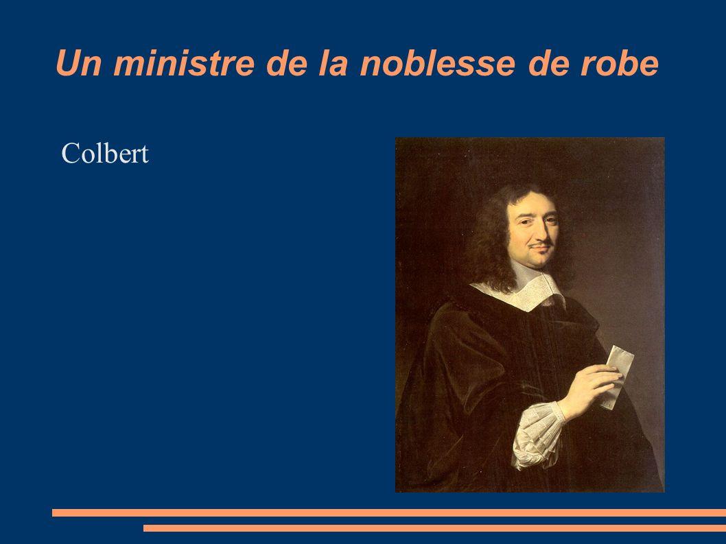 Un ministre de la noblesse de robe