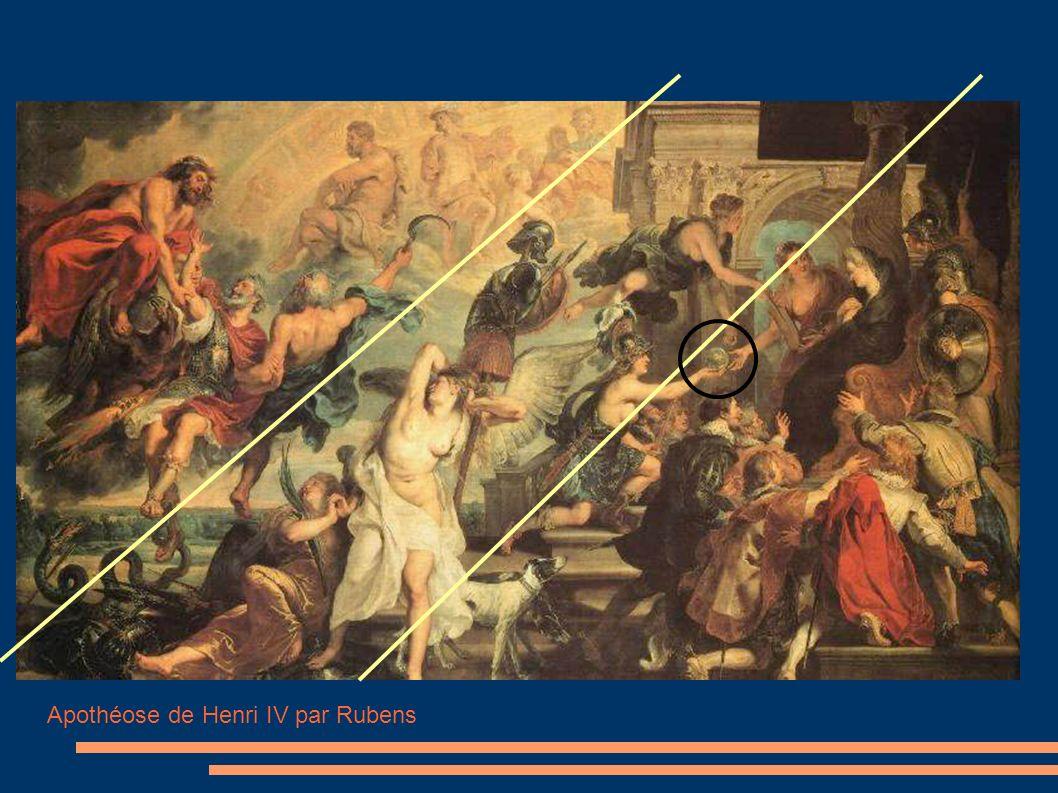 Apothéose de Henri IV par Rubens