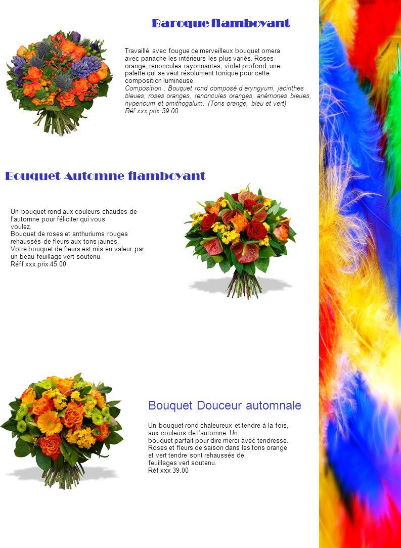 Bouquet Automne flamboyant
