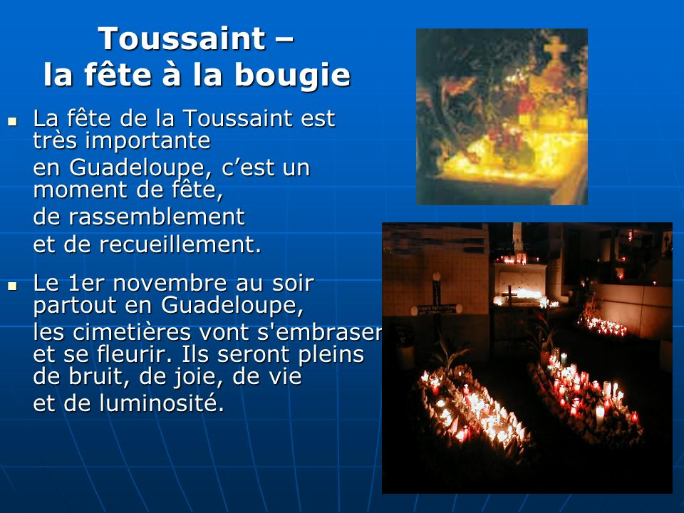 Toussaint – la fête à la bougie