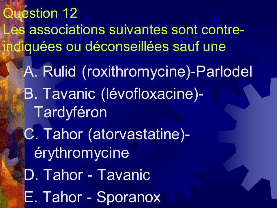 A. Rulid (roxithromycine)-Parlodel