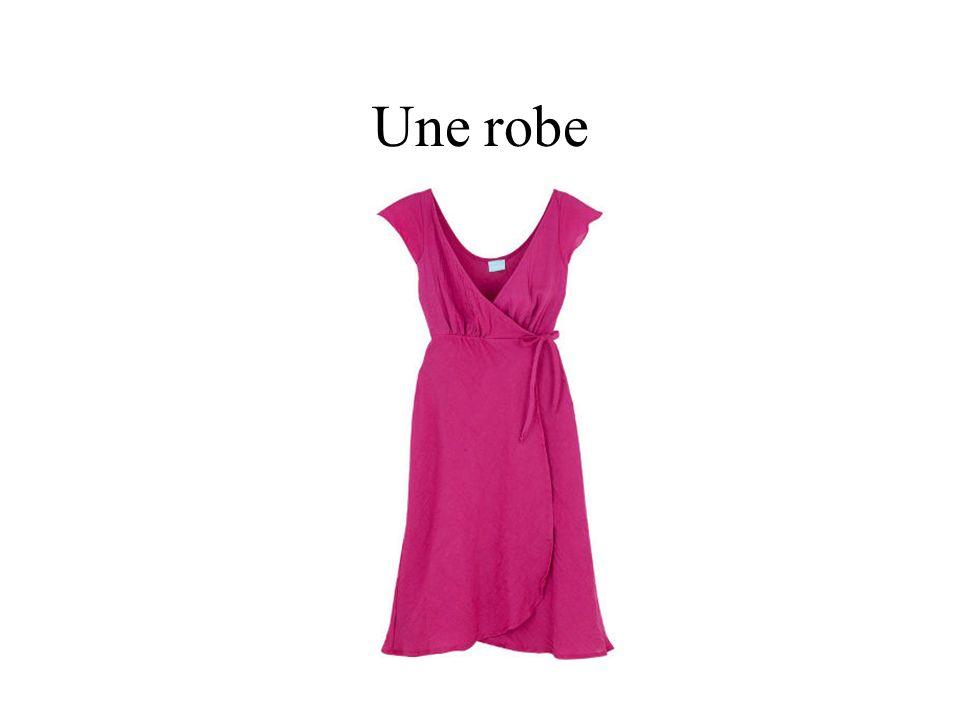 Une robe