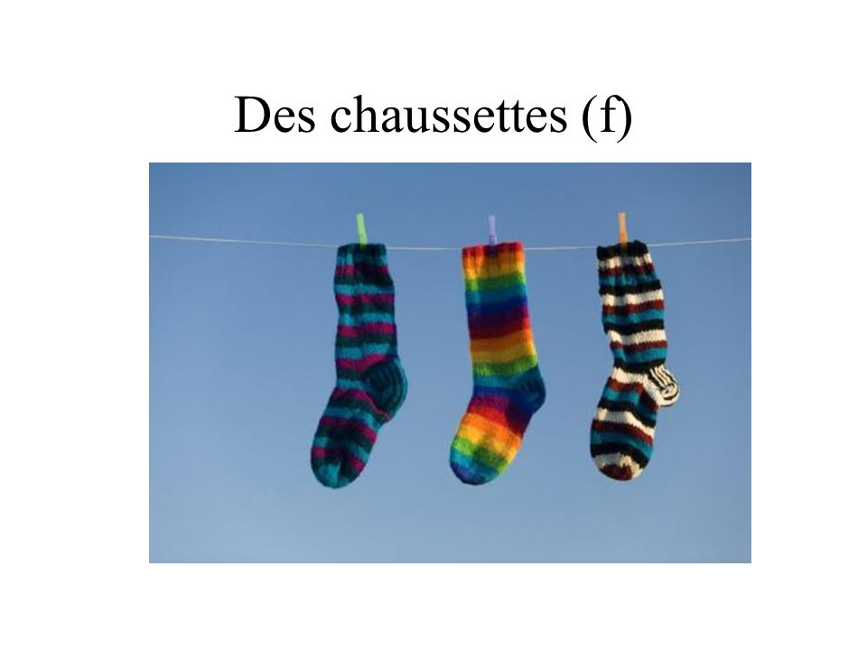 Des chaussettes (f)