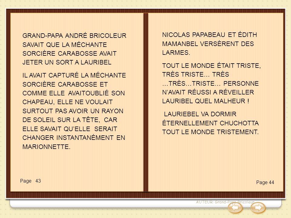 NICOLAS PAPABEAU ET ÉDITH MAMANBEL VERSÈRENT DES LARMES.