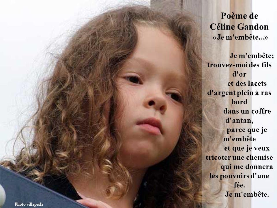 Poème de Céline Gandon «Je m embête