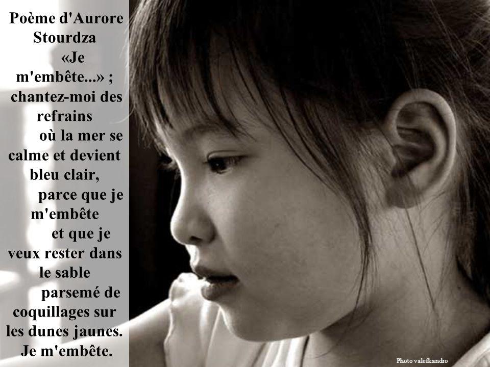 Poème d Aurore Stourdza «Je m embête