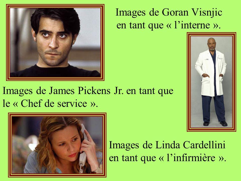 Images de Goran Visnjic en tant que « l'interne ».