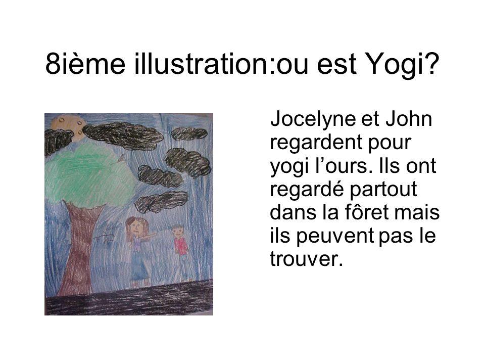 8ième illustration:ou est Yogi