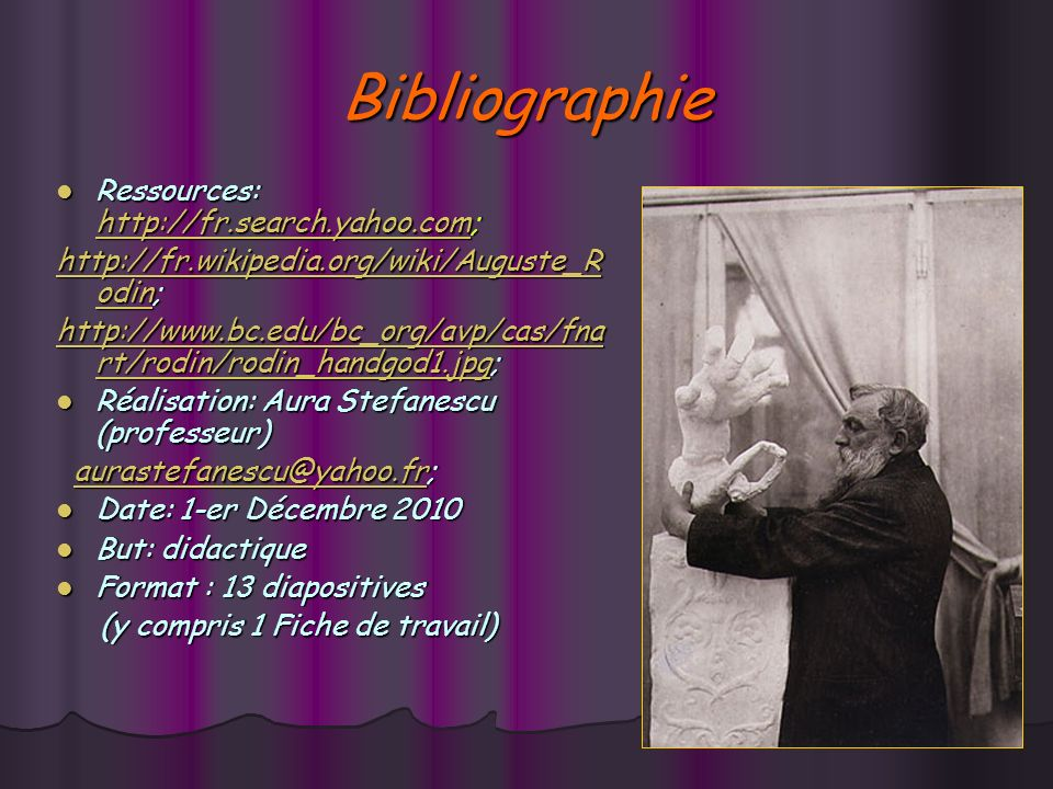 Bibliographie Ressources: http://fr.search.yahoo.com;