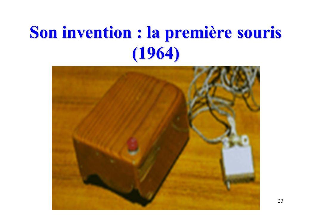 Son invention : la première souris (1964)