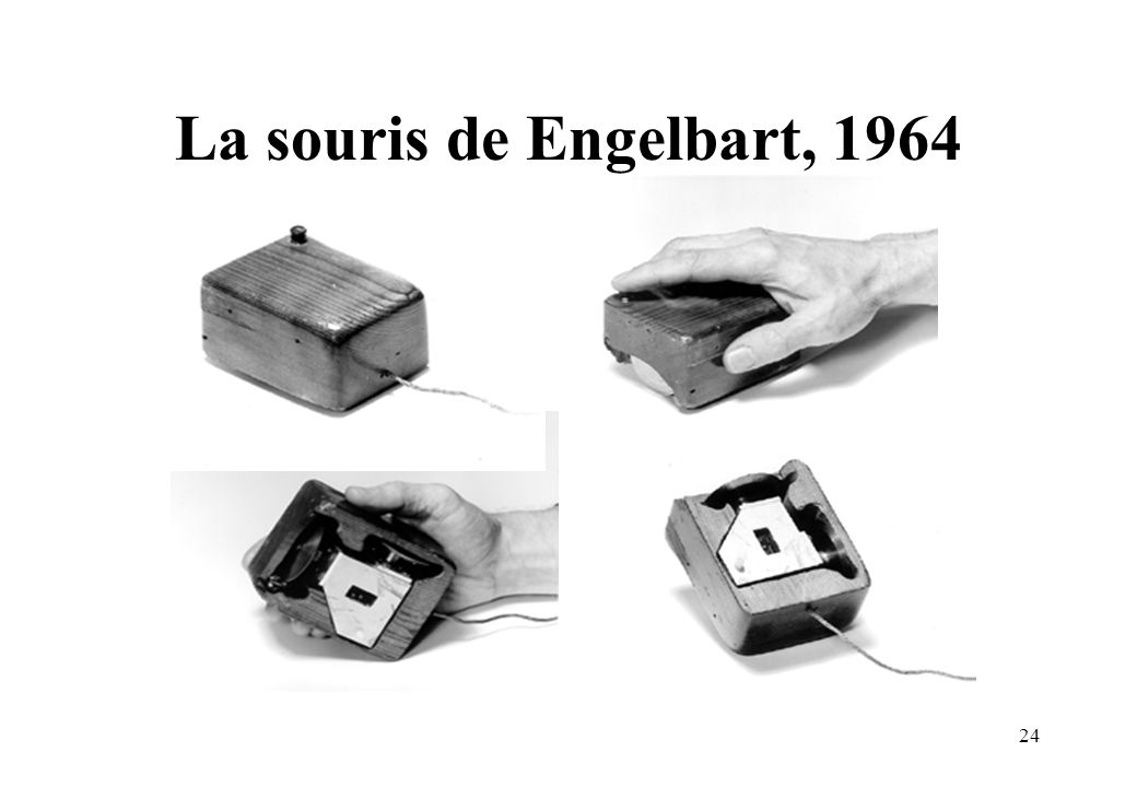 La souris de Engelbart, 1964