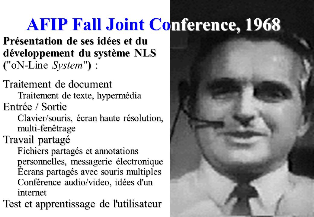 AFIP Fall Joint Conference, 1968