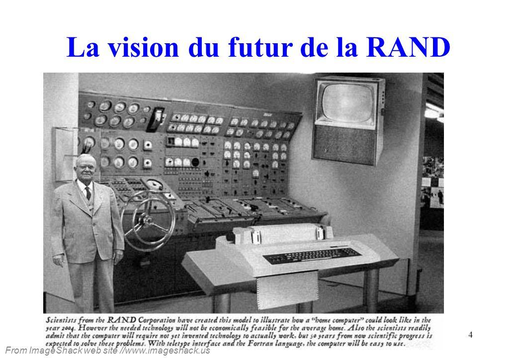 La vision du futur de la RAND