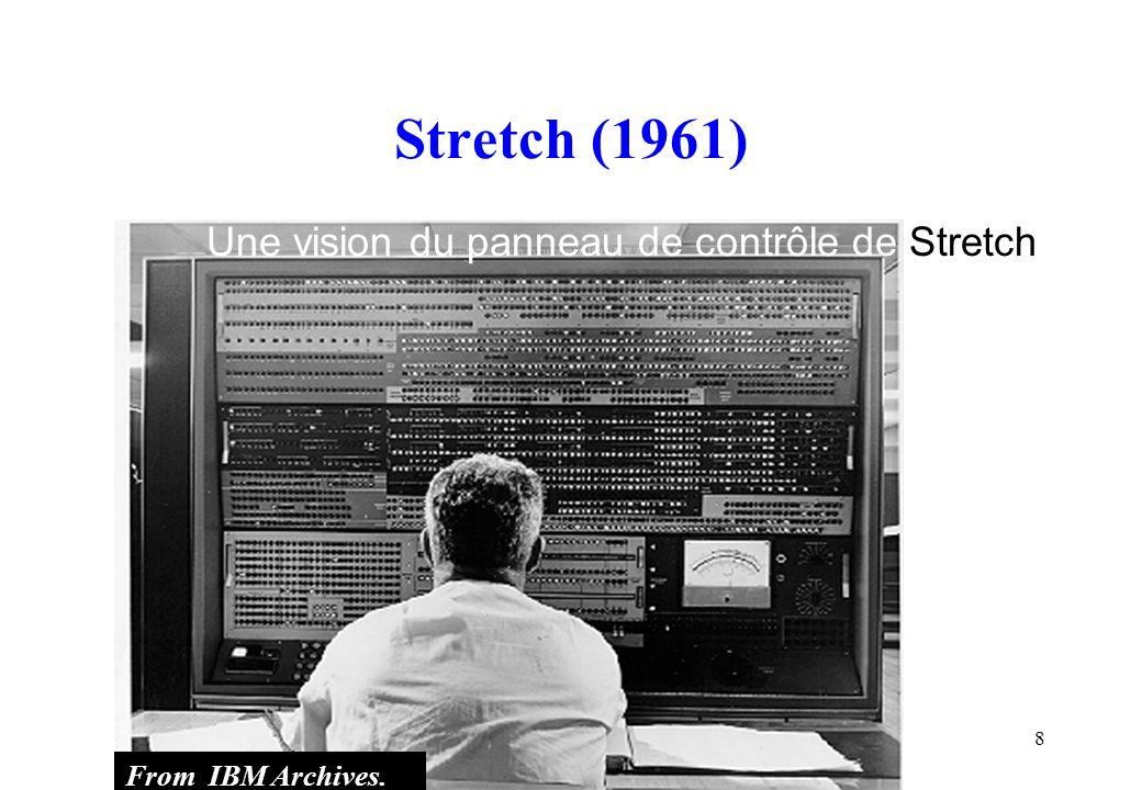 Stretch (1961) Une vision du panneau de contrôle de Stretch
