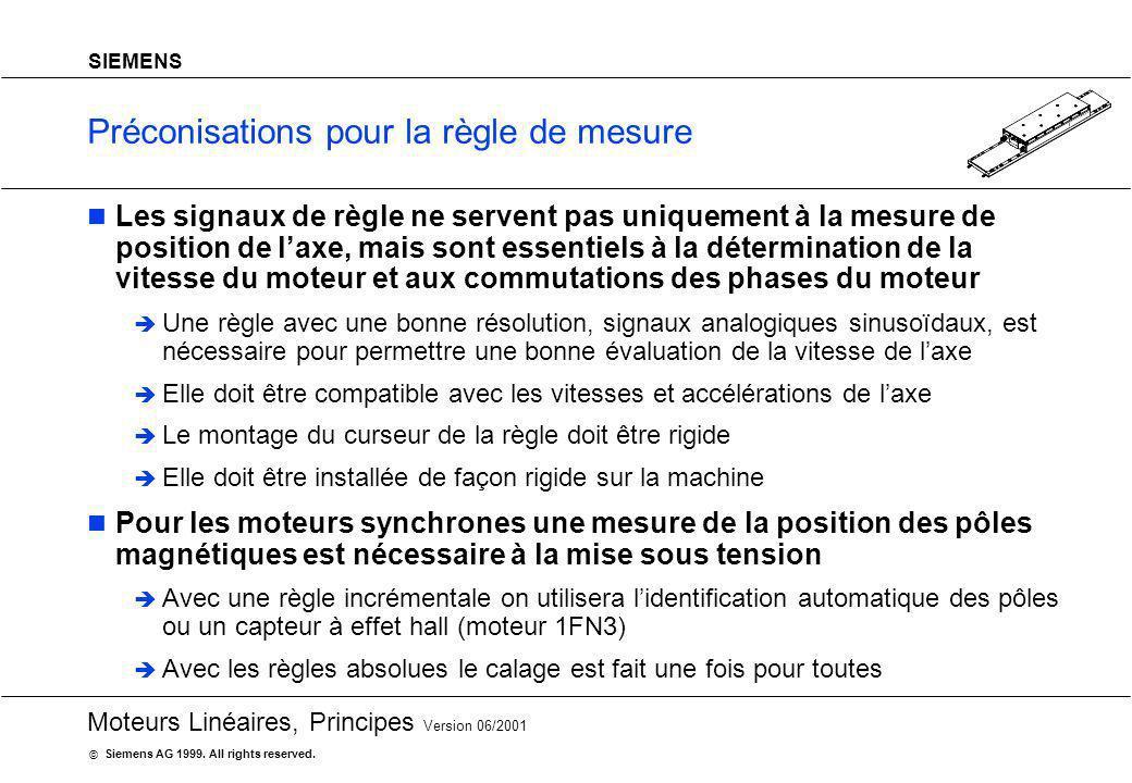 Préconisations pour la règle de mesure