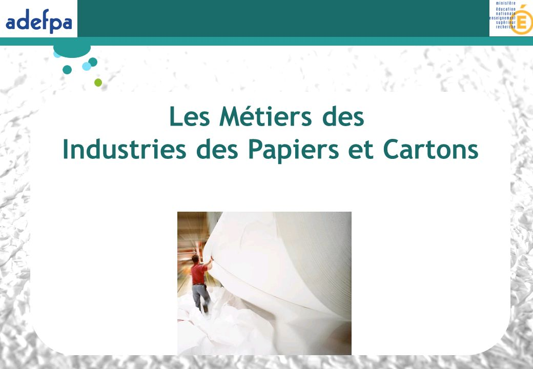 Industries des Papiers et Cartons