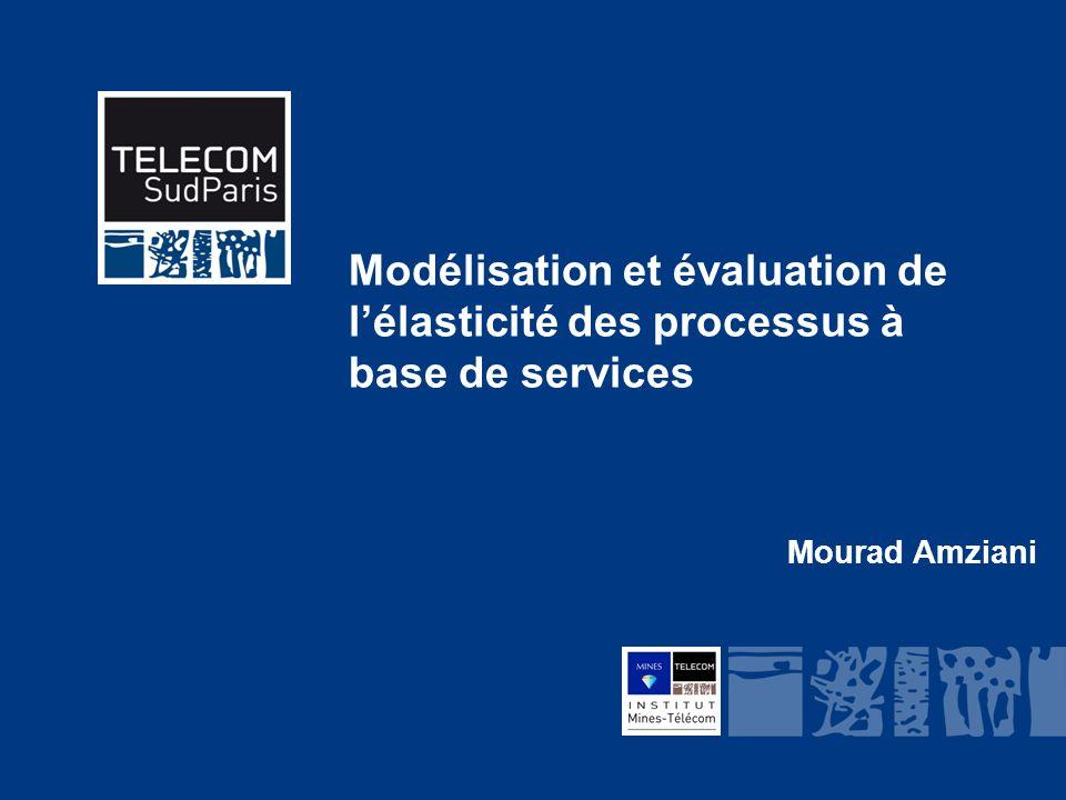 Modélisation et évaluation de l'élasticité des processus à base de services