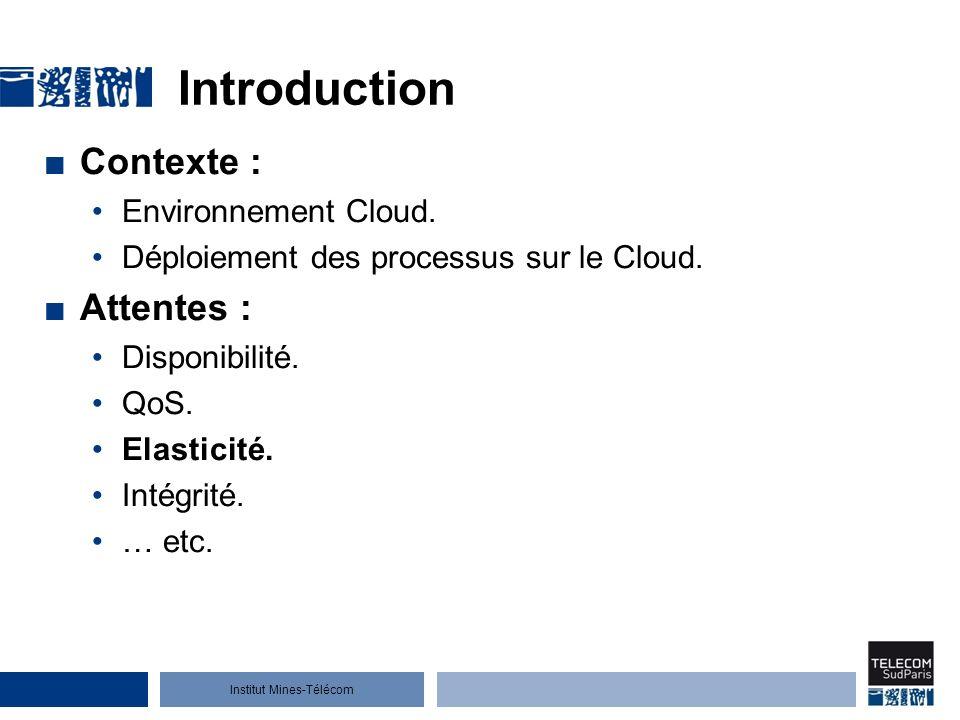 Introduction Contexte : Attentes : Environnement Cloud.