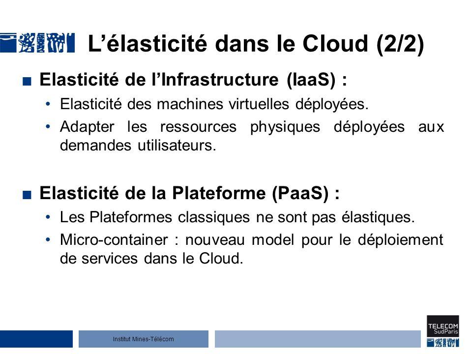 L'élasticité dans le Cloud (2/2)