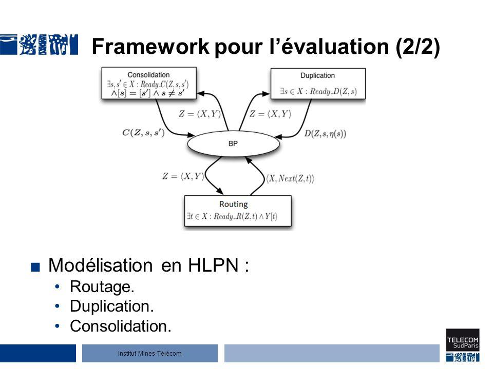 Framework pour l'évaluation (2/2)
