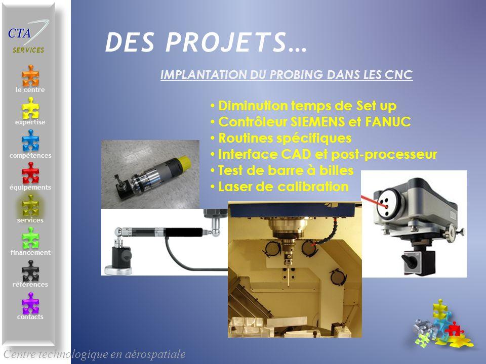 IMPLANTATION DU PROBING DANS LES CNC
