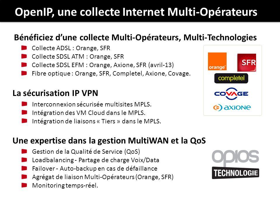 OpenIP, une collecte Internet Multi-Opérateurs