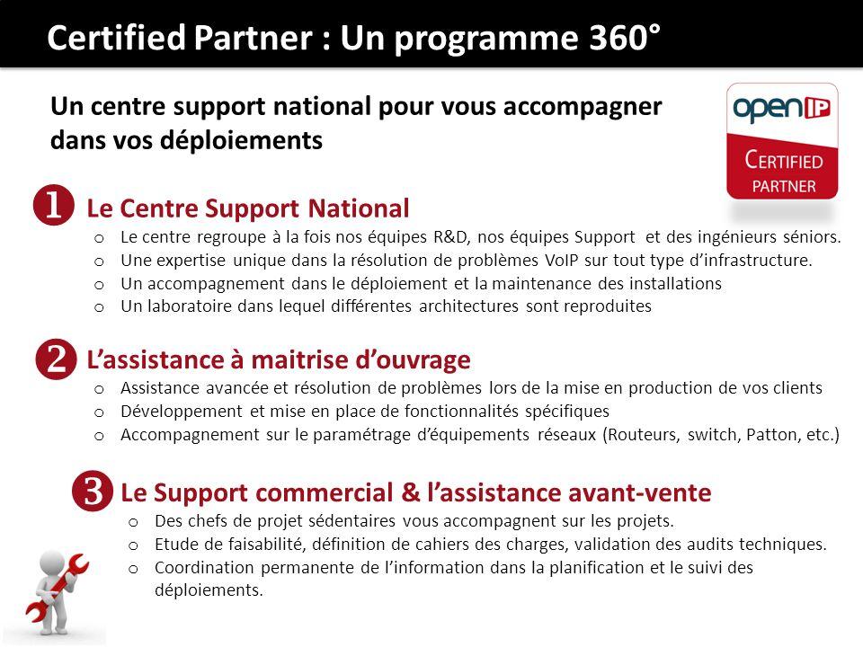    Certified Partner : Un programme 360°
