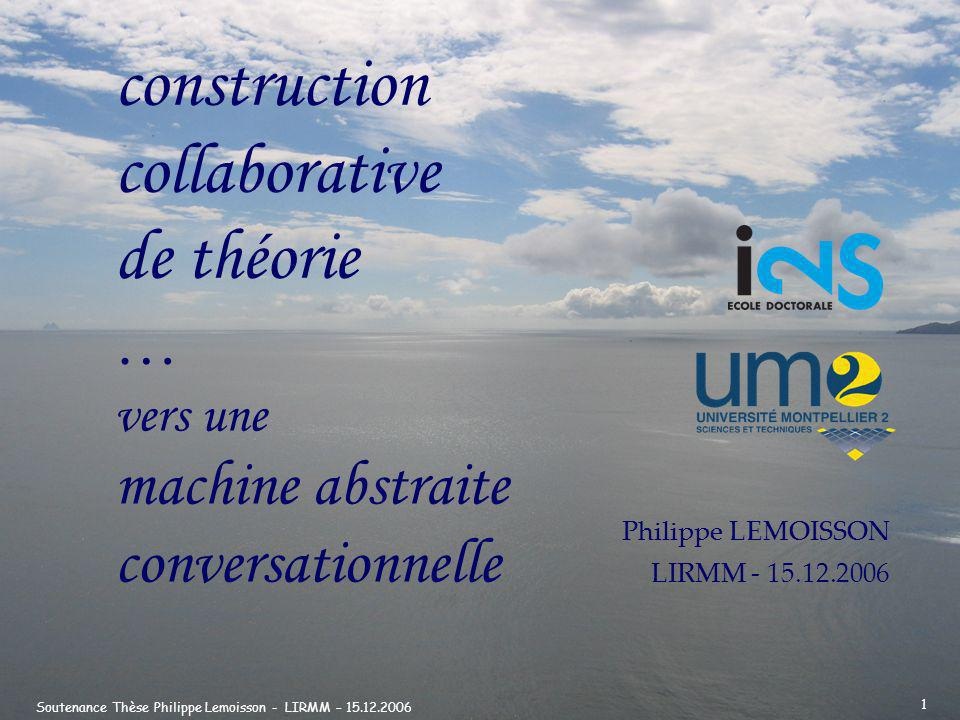 construction collaborative de théorie …
