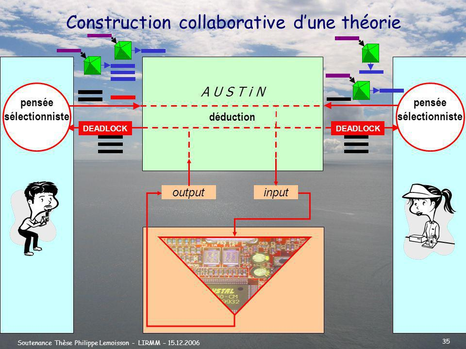 Construction collaborative d'une théorie