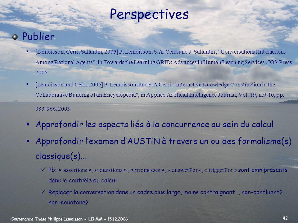 Perspectives Publier.