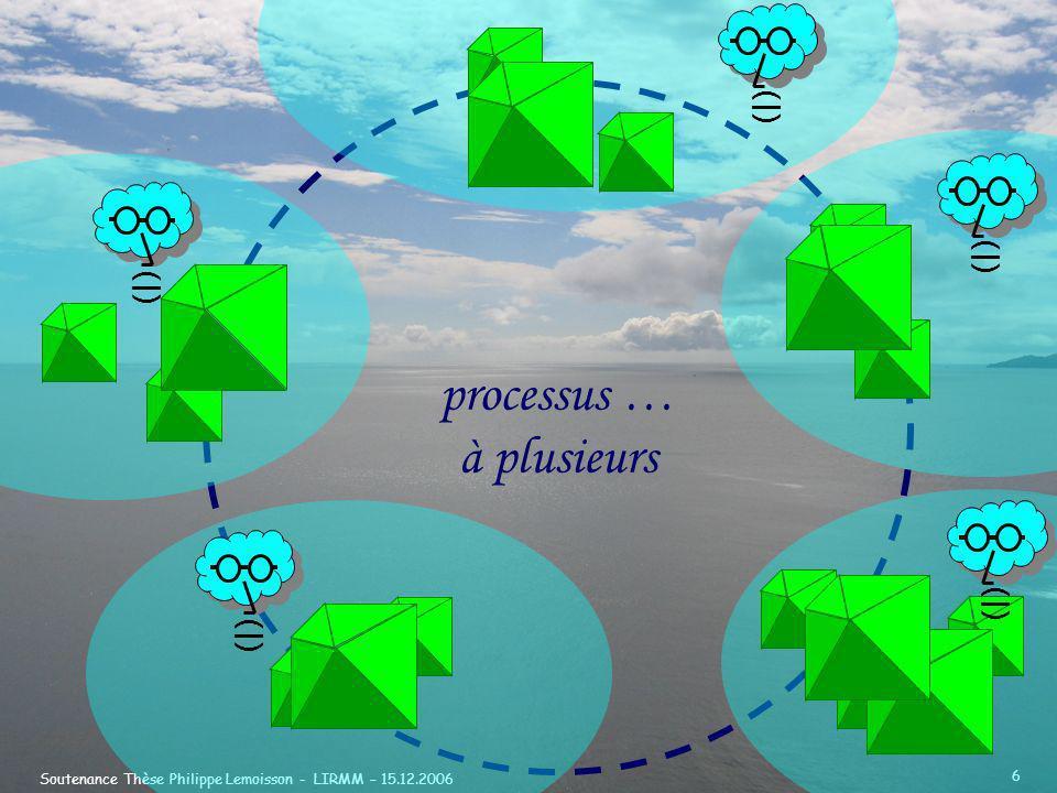 processus … à plusieurs (|) (|) (|) (|) (|)