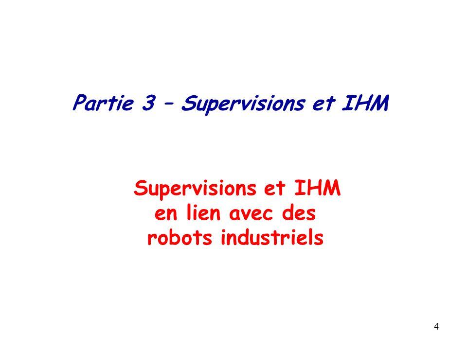 Partie 3 – Supervisions et IHM