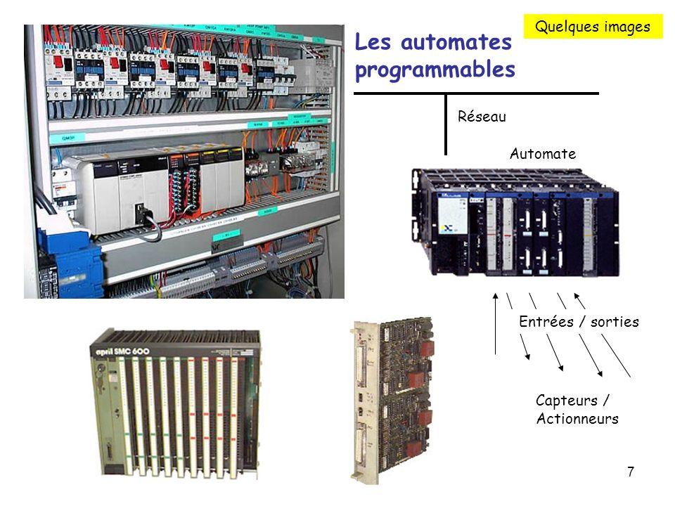 Les automates programmables