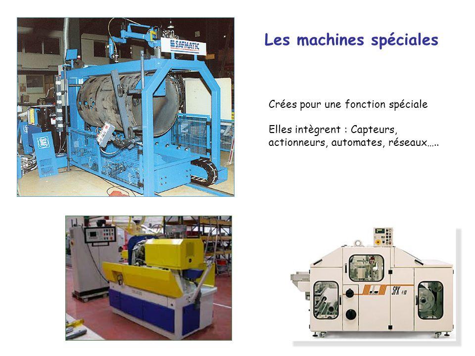 Les machines spéciales
