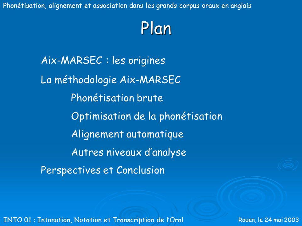 Plan Aix-MARSEC : les origines La méthodologie Aix-MARSEC