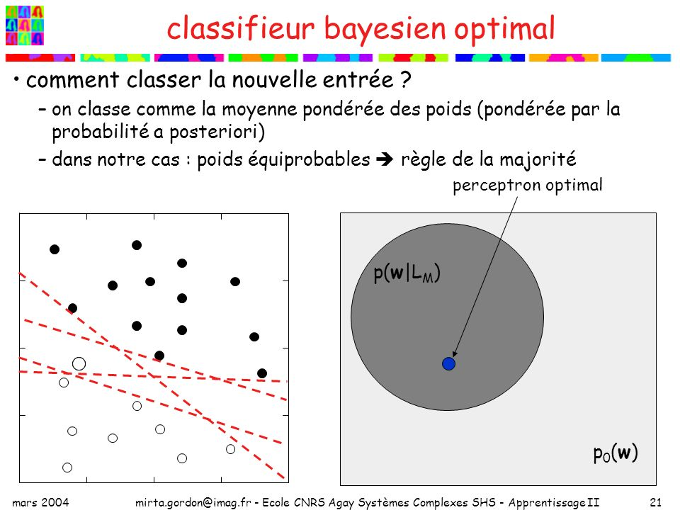 classifieur bayesien optimal