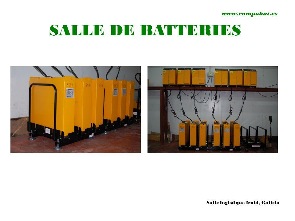 www.compobat.es SALLE DE BATTERIES Salle logistique froid, Galicia