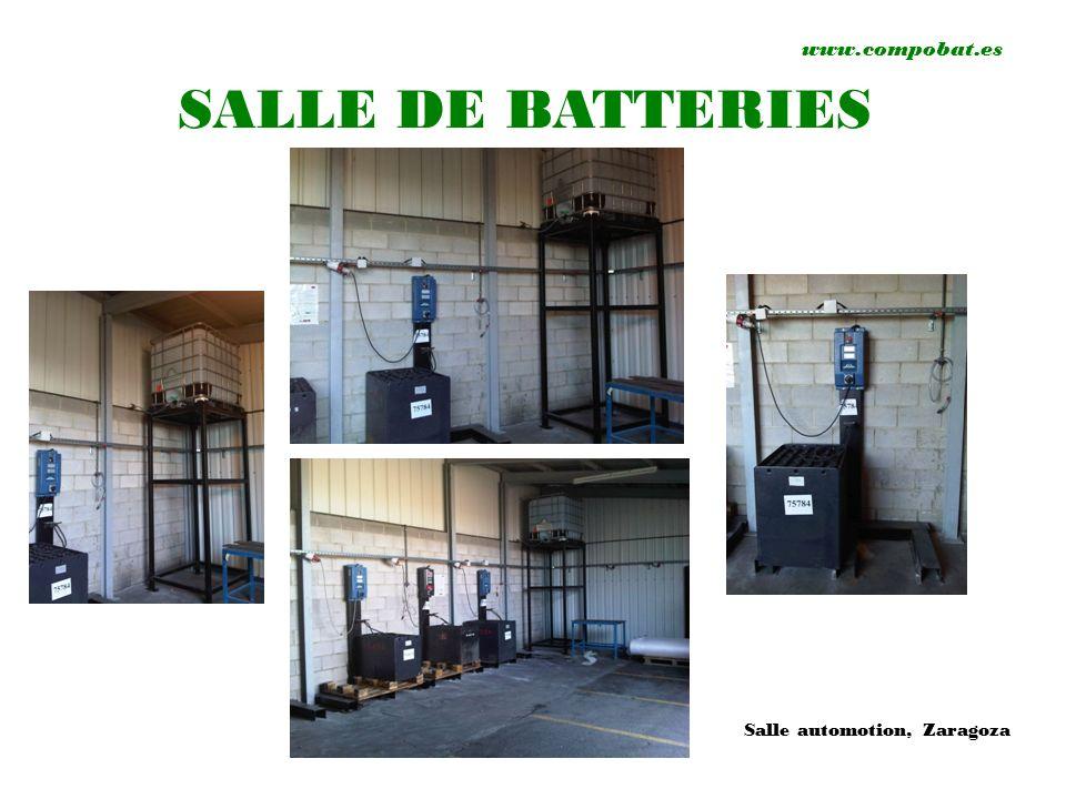 www.compobat.es SALLE DE BATTERIES Salle automotion, Zaragoza