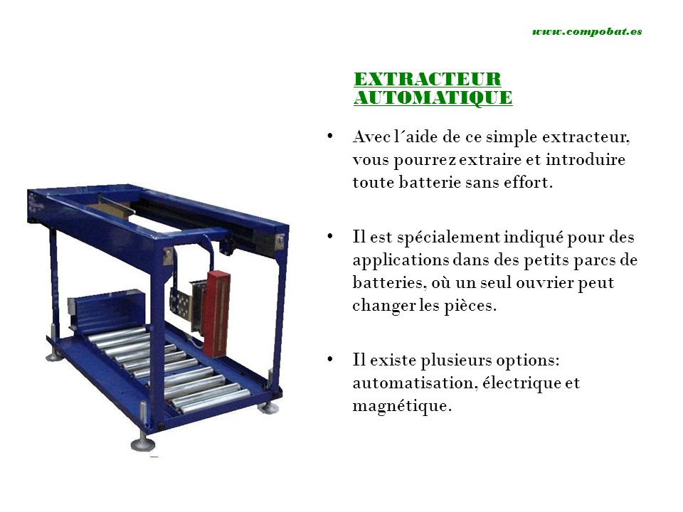 EXTRACTEUR AUTOMATIQUE