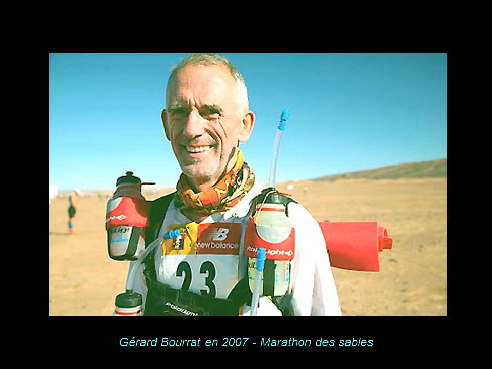 Gérard Bourrat en 2007 - Marathon des sables