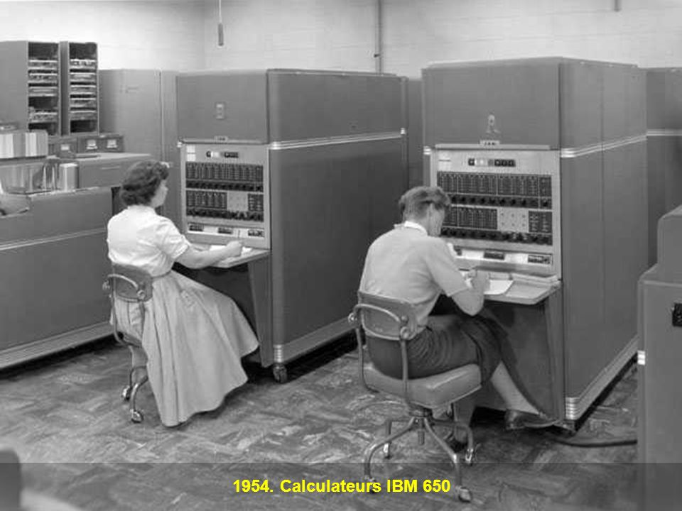 1954. Calculateurs IBM 650
