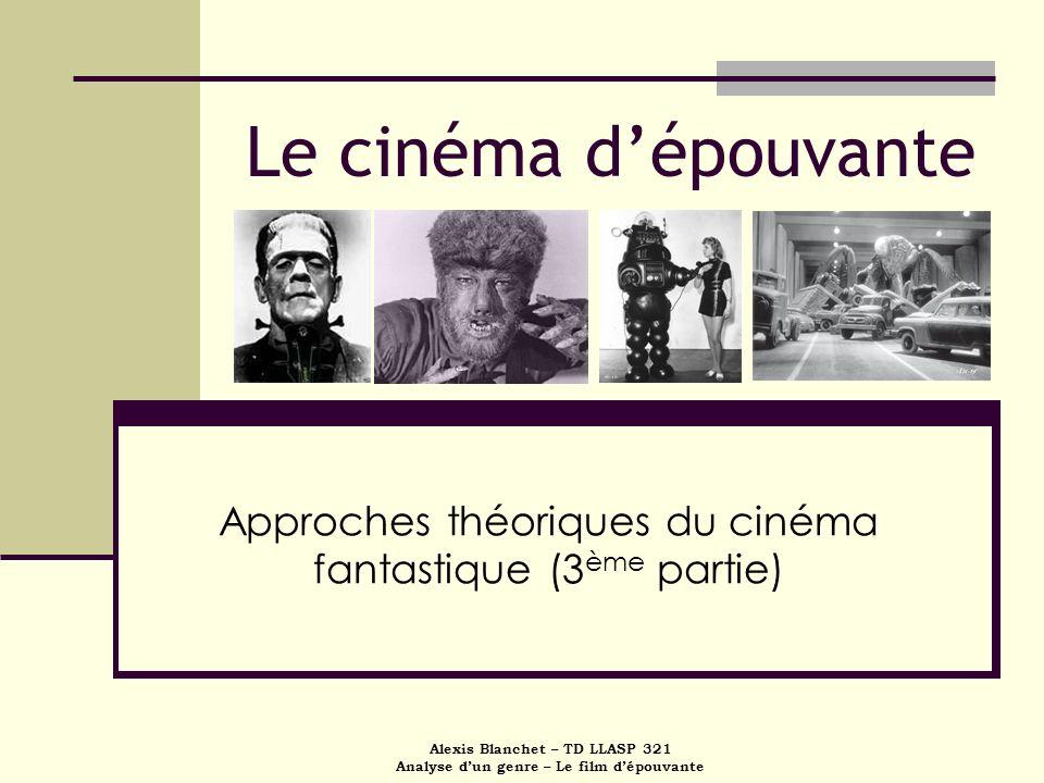 Approches théoriques du cinéma fantastique (3ème partie)
