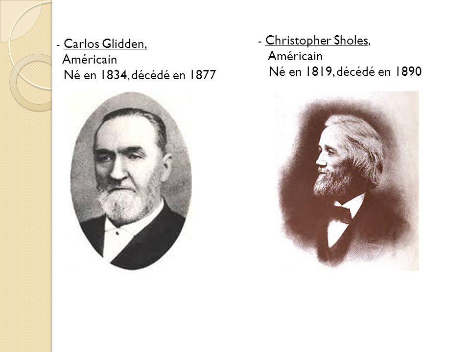 Américain Né en 1819, décédé en 1890 Né en 1834, décédé en 1877
