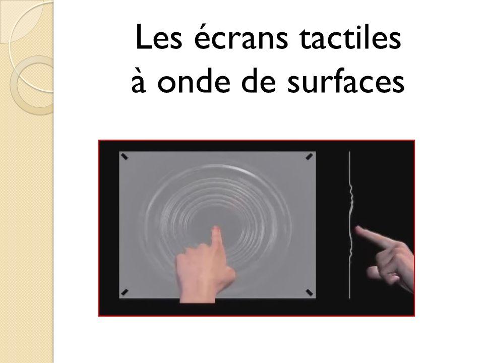 Les écrans tactiles à onde de surfaces