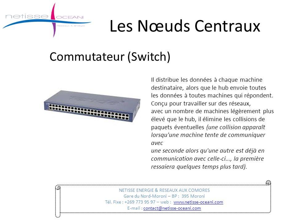 Les Nœuds Centraux Commutateur (Switch)