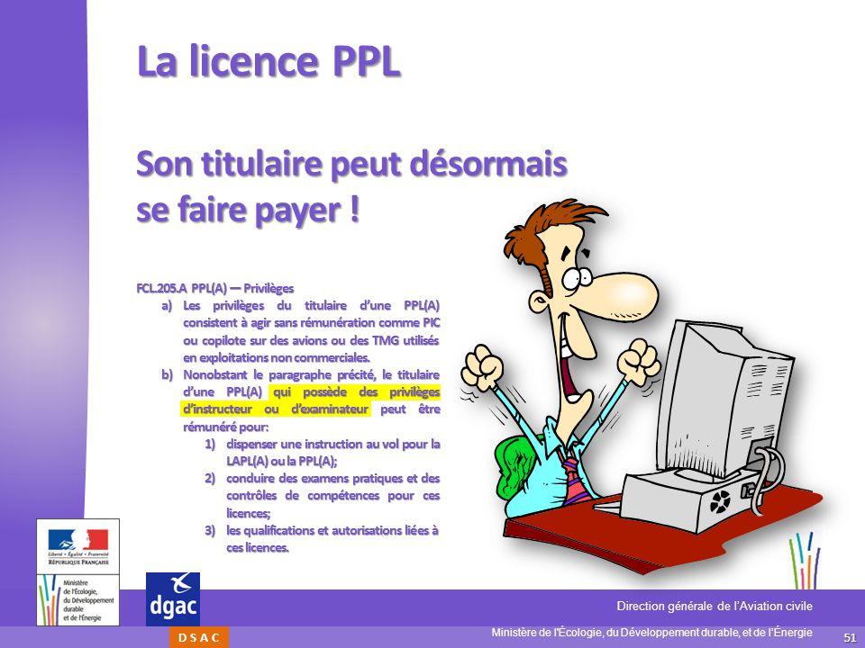 La licence PPL Son titulaire peut désormais se faire payer !